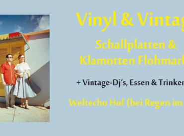 Vinyl & Vintage: Platten- und Klamottenflohmarkt