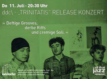 """ddc\ – """"Trinitatis"""" Release Konzert"""