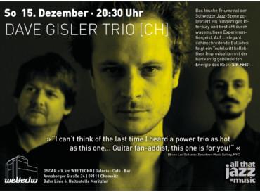 Dave Gisler Trio [CH]
