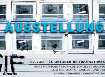 Galerie im Fenster – Ausstellung Reitbahnstraße 19/21