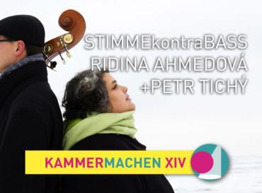 Ridina Ahmedová und Petr Tichý (CZ) · STIMMEkontraBASS
