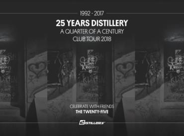 25 Years Distillery Club Tour