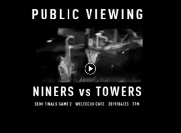 Public Viewing | Niners Chemnitz vs. Hamburg Towers