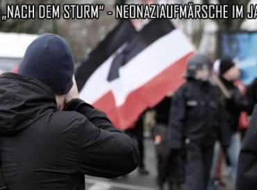 """Lesung """"Nach dem Sturm"""" – Neonaziaufmärsche im Jahr 2016"""