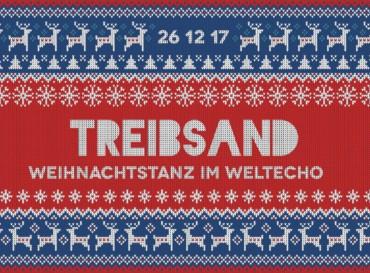 Treibsand – Weihnachtstanz 2017: Line Up auf 2 Floors